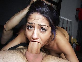 Hot curious chick Julia de Lucia gets..