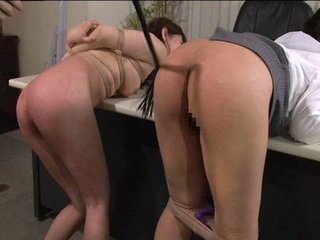 Asian dame arched over and arse is..