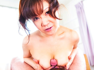 Yam-sized boob Ichika Asagiri on her..